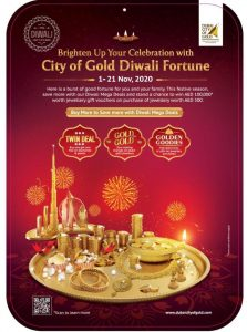 Brighten up the Festival of Lights with City of Gold Diwali Fortune - Dubaisavers