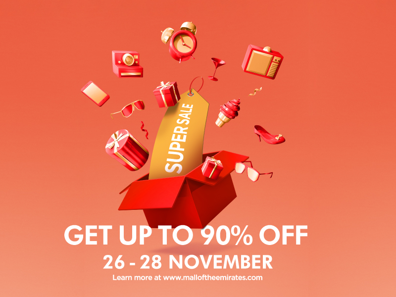 Mall of the Emirates Super Sale offers - Dubaisavers