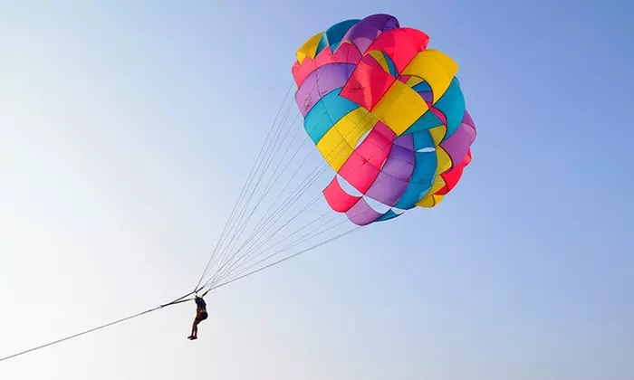 Parasailing Experience with 247 Tourism & Travel LLC - Dubaisavers
