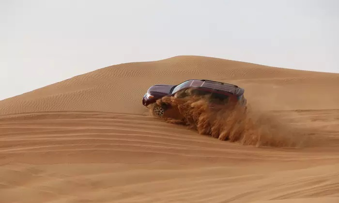 Desert Safari with Live Entertainment at Adventure Gate Tours - Dubaisavers