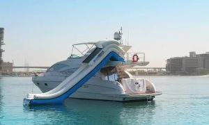 Yacht and Water Slide Hire with Asfar Yachts - Dubaisavers