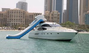 Boat and Water Slide Rental with Asfar Yachts Charter LLC - Dubaisavers