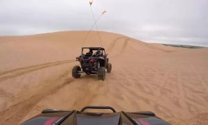 One- or Two-Hour 800cc Polaris Driving Experience with Cooper Tourism - Dubaisavers