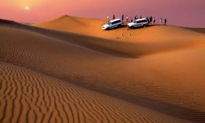 Regular or VIP Evening Desert Safari at Desert Camel Tourism - Dubaisavers