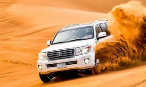 Evening Desert Safari with Camel Ride with Desert King Tourism - Dubaisavers
