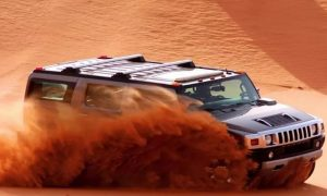 Hummer Desert Safari with Pick-Up, Show and Dinner at Desert King Tourism - Dubaisavers