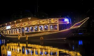 Dubai Creek Cruise with Optional Classic or VIP Safariat Desert Ride Travel & Tour - Dubaisavers