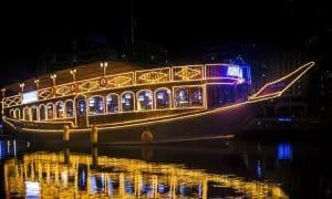 Dubai Creek Cruise with Optional Classic or VIP Safariat Desert Ride Travel & Tour - Dubaisavers