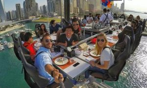 Lunch or Dinner on Weekday or Weekend with Dinner in the Sky - Dubaisavers