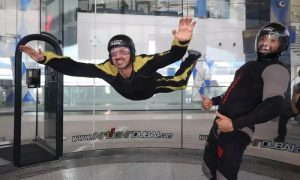 Up to 30 Flights in Indoor Wind Tunnel for Up to 12 at Inflight Dubai - Dubaisavers