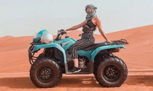 One-Hour Rapid Raid or Two-Hour Mojo Quad Biking Experience with Just GasIt - Dubaisavers