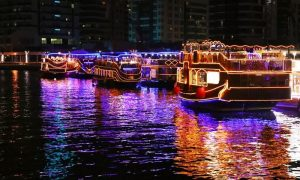 2-hour Creek Cruise with Buffet and Live Shows at Marhaba Global Tourism - Dubaisavers