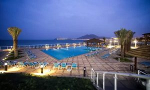 1 Night with Breakfast Option for Dinner at Oceanic Khorfakkan Resort & Spa - Dubaisavers