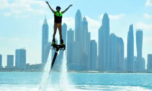 30-Minute Flyboard, Jetpack or Jetovator Experience at Hydro Water Sport - Dubaisavers