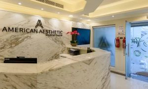 Clean, Scale and Polish, Teeth Whitening or One or Two Cavity Fillings with X-Ray at American Aesthetic Medical Center - Dubaisavers