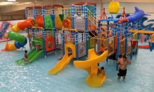 Two-Hour Indoor Splash Island Access for One or Two Children at Blue Wave Club - Dubaisavers