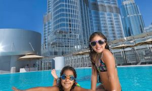Weekday Pool Access at The Burj Club Rooftop Pool Access - Dubaisavers