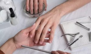 Men's Manicure and Pedicure with Optional Facial at Mirage Gents Salon, Crowne Plaza Hotel - Dubaisavers