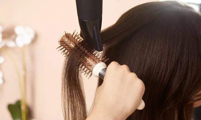 Wash, Cut and Blow-Dry with Optional Roots Colour or Hair Mask at Beauty Secret Ladies Salon - Dubaisavers