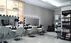 Cut and Optional Mask or Root Colour and Optional Cut at Lengths and Lashes Ladies Beauty Salon - Dubaisavers