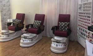 Classic or Gelish Mani-Pedi or Gelish Manicure and Classic Pedicure at Nana Doll Ladies Beauty Center - Dubaisavers