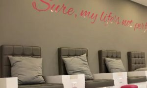 Gel or Acrylic Nail Extensions with Classic or Gelish Polish at Blo Out Beauty Bar - Dubaisavers