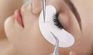 Classic One-by-One Eyelash Extensions with Optional Brow and Upper Lip Threading at Mad Lillies Salon - Dubaisavers