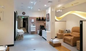 Classic Mani-Pedi, Gelish Manicure with Classic Pedicure, or Acrylic Nail Extensions at Vibes Beauty Salon - Dubaisavers