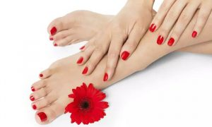 Mani-Pedi with Optional Hand and Foot Paraffin Treatment at House Martin Beauty Salon, JLT - Dubaisavers