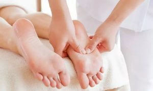 Up to 75-Minute Foot Reflexology with Optional Pedicure at Sheira Beauty & Ladies Nail Spa - Dubaisavers
