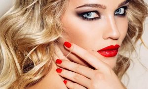 Classic, Gel or Spa Manicure and Pedicure with Optional Threading at Marjan Beauty Saloon, JLT - Dubaisavers