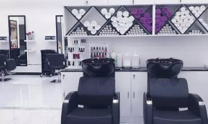 Cut and Blow-Dry with Optional Hair Treatment or Manicure and Pedicure at Ombre Salon Fze - Dubaisavers