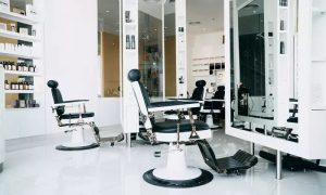 Haircut and Shave with Optional Spa Treatment Package or Mani-Pedi with Foot Scrub or Facial at Barber and Painting - Dubaisavers