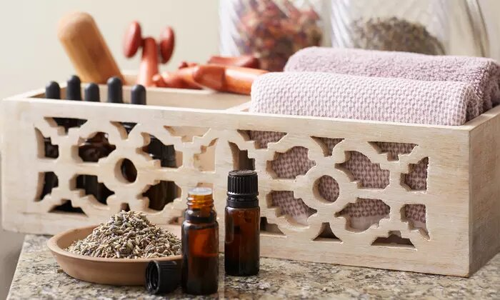 Moroccan Bath with Optional Herbal Facial or Classic Manicure and Pedicure at Iris Eye Ladies Beauty Salon - Dubaisavers