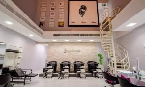 Classic, French or Gelish Mani-Pedi with Opt Foot Spa Treatment at Euphoria Ladies Beauty Lounge - Dubaisavers