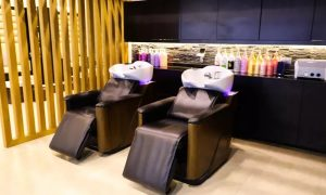 Wash and Blow-Dry with Optional Hair Trim or One-Hour Dermalogica Facial at Beauty Garden Ladies Salon - Dubaisavers