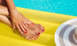 Classic Manicure and Pedicure with Optional Hamman Ritual or Hair Treatment with Blow-Dry at Jannati Spa - Dubaisavers