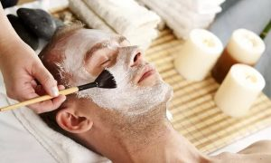 Men's Express Facial with Optional Haircut, Wash and Foot Spa at Sfizio Gents Salon - Dubaisavers