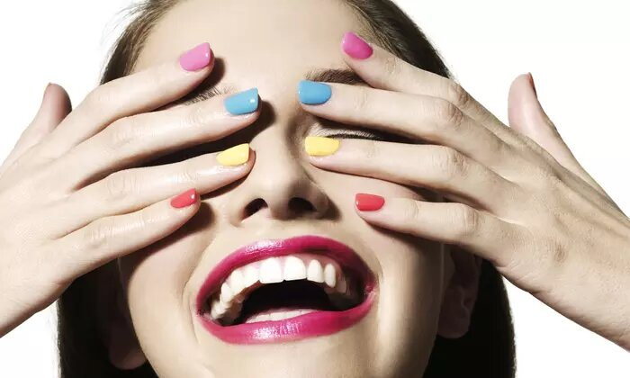 Classic, French, Spa or Gel Manicure and Pedicure at Kacy Beauty Salon - Dubaisavers