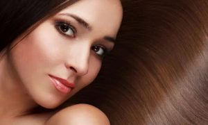 Cut and Blow-Dry with Optional Hot Oil Head Spa Treatment and Full-Face Threading at Pink Line Spa - Dubaisavers