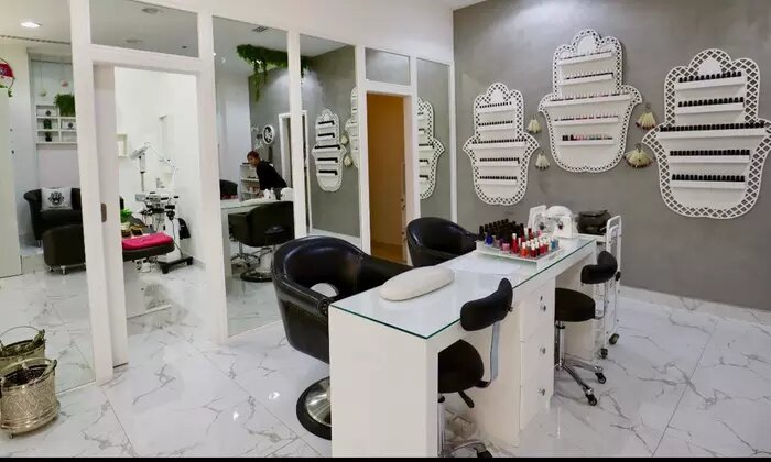 Classic, French or Gelish Manicure and Pedicure, or Nail Extensions with Gel Manicure at Khmissa Beauty Salon - Dubaisavers
