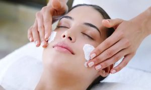 Choice of One-Hour Facial with Optional Mani-Pedi, Eyebrow Threading and Hand Paraffin Treatment at Pink Line Spa - Dubaisavers
