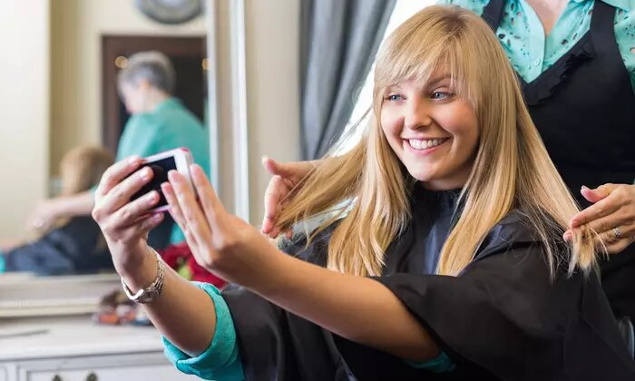 Choice of Hairstyling Package at Mirrors Beauty Lounge - Dubaisavers