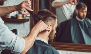 Men's Haircut with Optional Grooming Services, or Father and Son Haircut at Hola Gents Salon - Dubaisavers