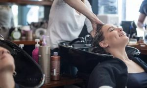 Wash, Cut and Dry with Optional coloring services at Tamodai Beauty Ladies Salon - Dubaisavers