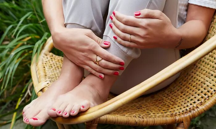 Manicure and Pedicure with Optional Gelish on Hands or Feet at Glam Up Ladies Beauty Salon - Dubaisavers