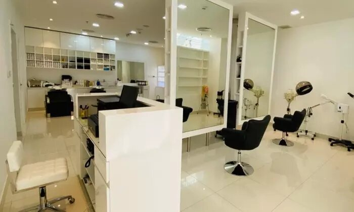 Eyebrow Threading or Tinting or Hair Wash and Style with Optional Trim or Colour at Laurel Beauty Lounge - Dubaisavers