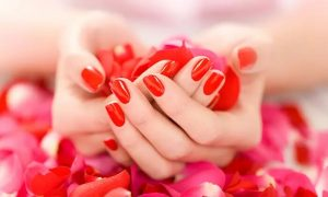 Classic or Gelish Mani-Pedi, or Gel Nail Extensions at The Vanity Lounge Beauty Salon - Dubaisavers