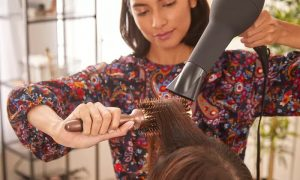 Hair Trim or Root Colour with Blow-Dry or Three Sessions of Blow-Dry at Bespoke Beauty Studio - Dubaisavers