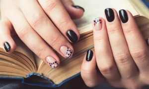 Mani-Pedi with Standard or Gelish Polish, with Options on Extension and Reflexology at Strawberry Nails Salon - Dubaisavers